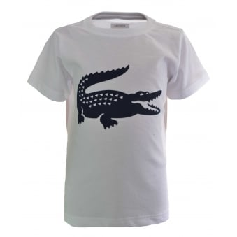 Lacoste Kids White T-Shirt