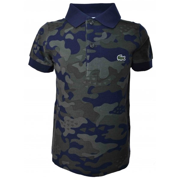 c1620055d37 lacoste kids camouflage polo shirt