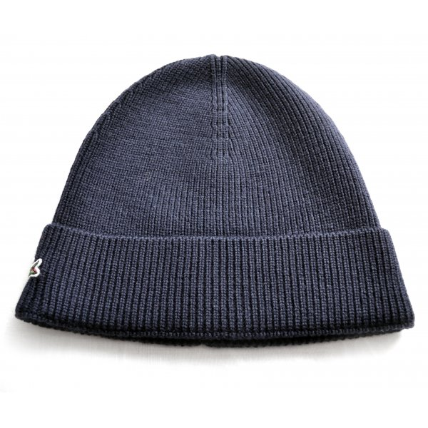 kids lacoste navy knitted beanie hat bb8104b8572