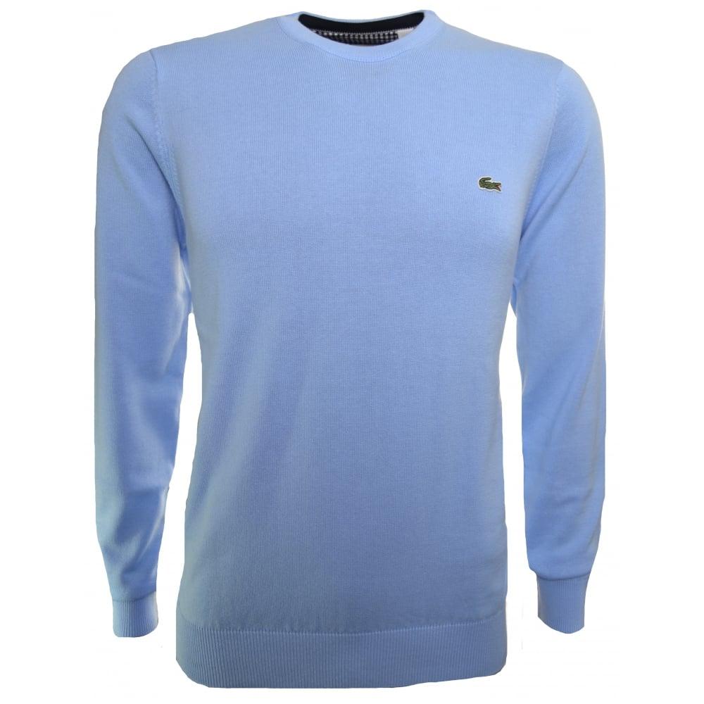 878f006f7fe5 lacoste men s pale blue jumper