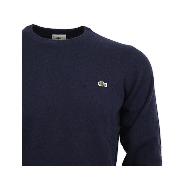 black lacoste sweatshirt
