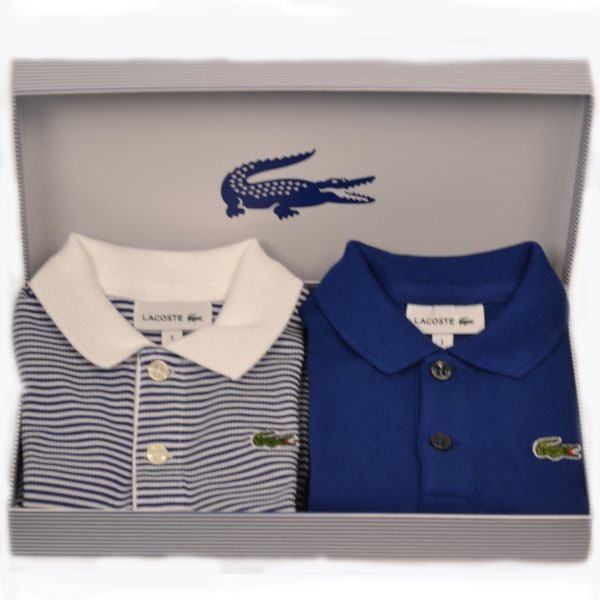 lacoste baby grow set of two