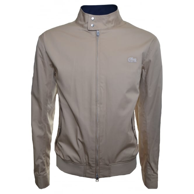 Lacoste Men's Beige Harrington Jacket