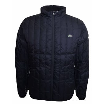 Lacoste Men's Black Quilted Jacket