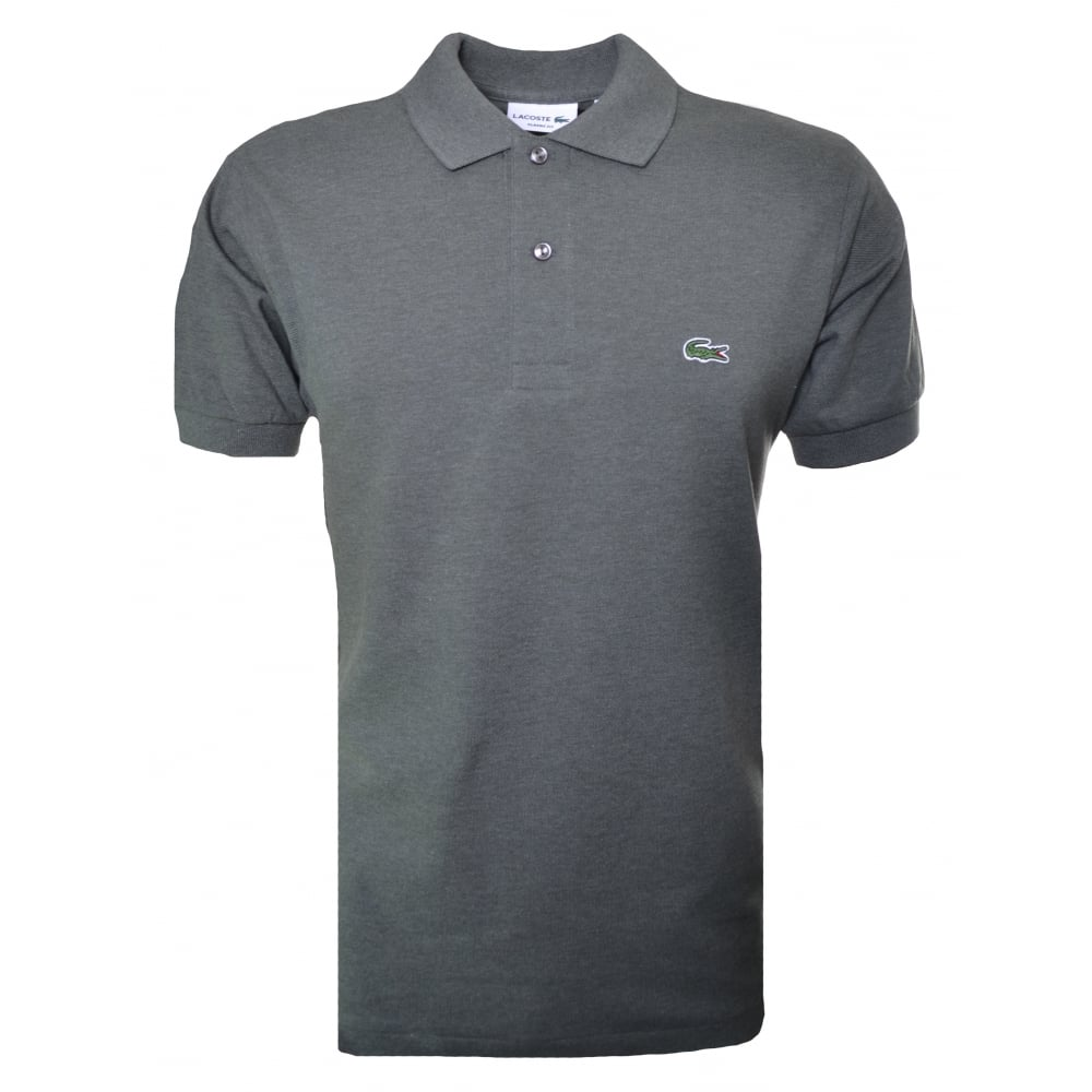 6f85bf644 Lacoste Men's Classic Fit Green Short Sleeve Polo Shirt