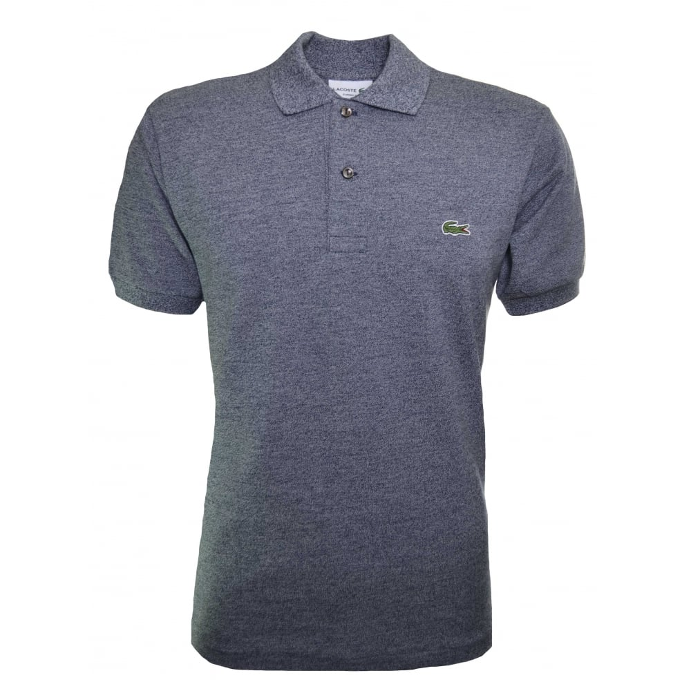 45547bee17 Classic Fit Grey Marl Short Sleeve Polo Shirt