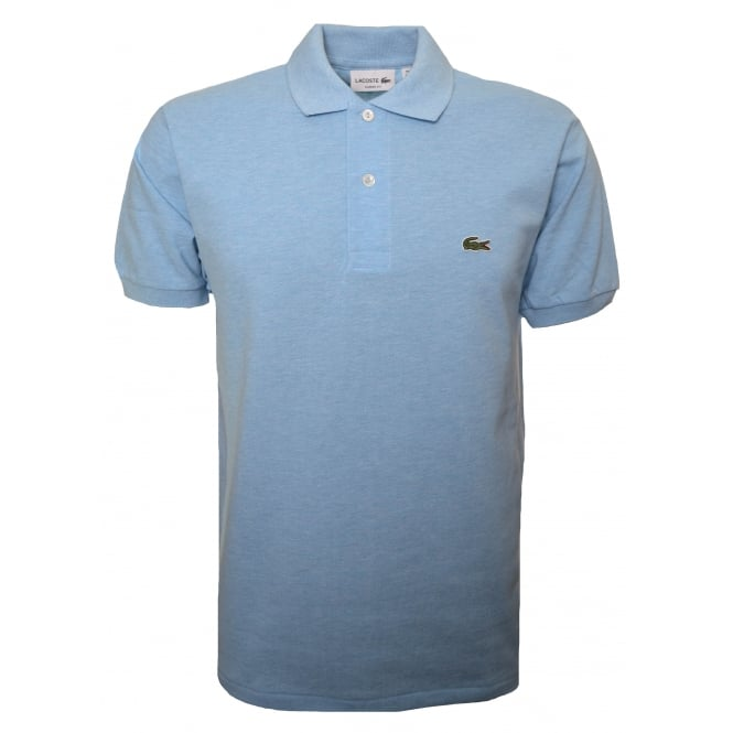 Lacoste Men's Classic Fit Light Blue Short Sleeve Polo Shirt