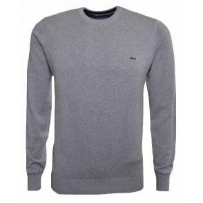 e91ac6488a Lacoste Men s Grey Jumper