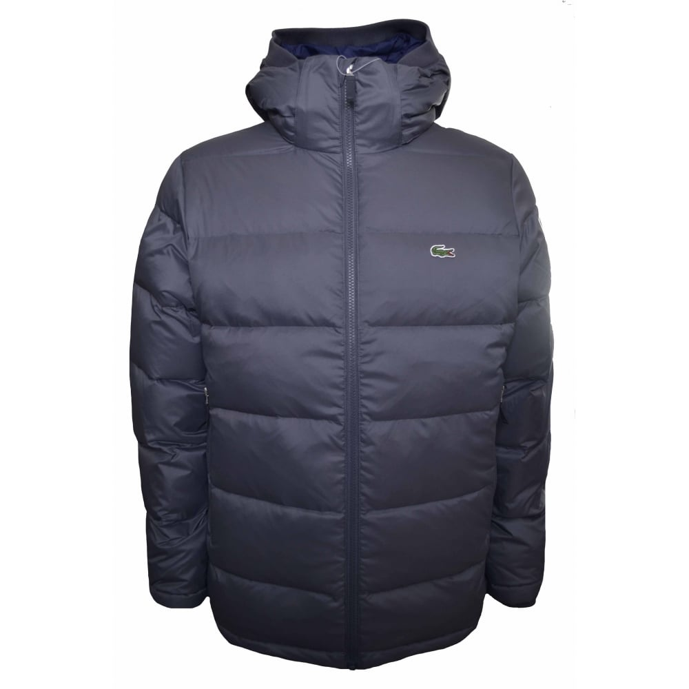 7fcc012262 Lacoste Men's Lacoste Men's Grey Puffa Jacket