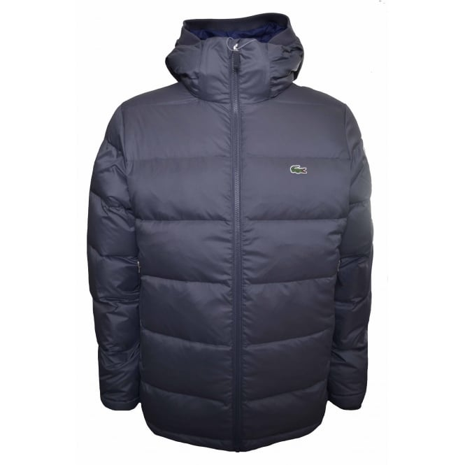 Lacoste Men's Grey Quilted Jacket