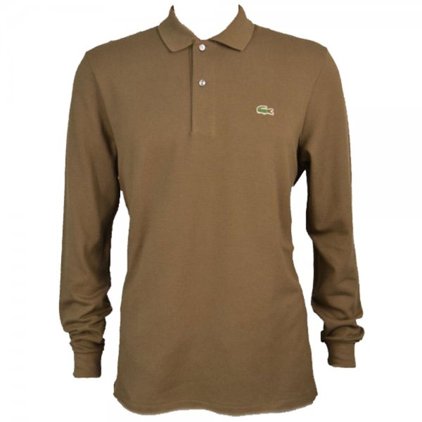 Brown Lacoste T Shirt