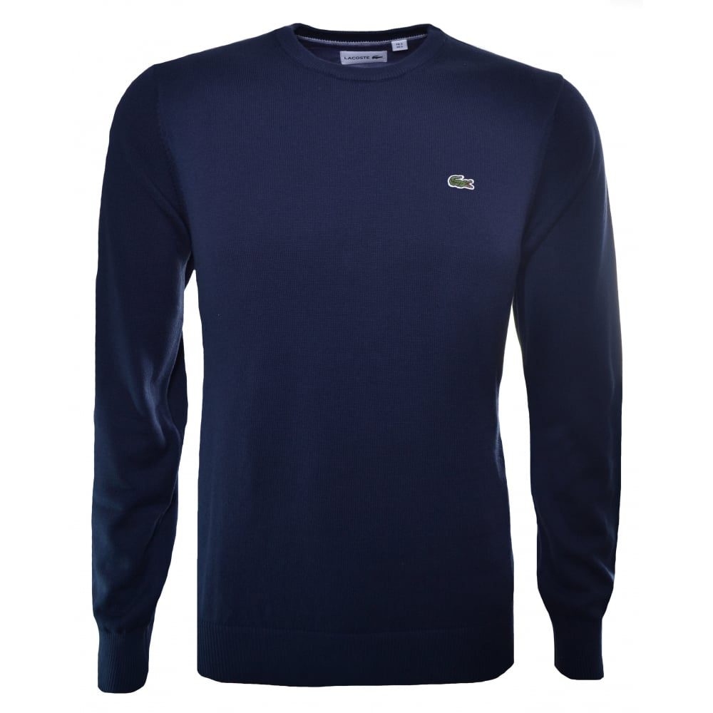 Buy Authentic outlet elegant and sturdy package Lacoste Men's Lacoste Men's Navy Blue Jumper