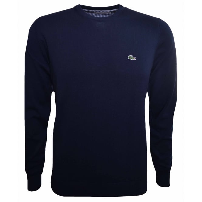 Lacoste Men's Navy Blue Jumper