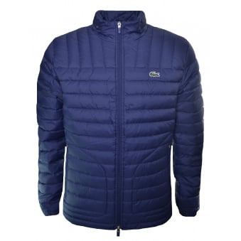 Lacoste Men's Navy Blue Padded Jacket