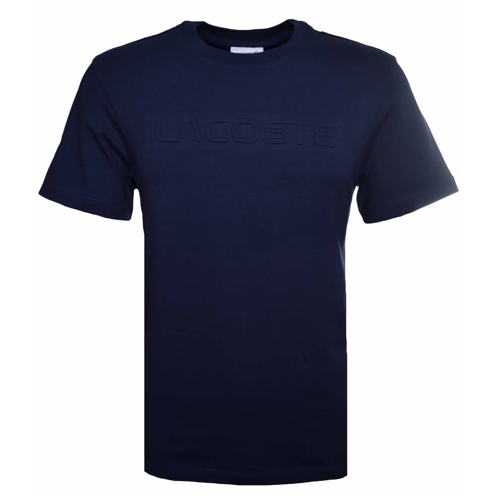 Blue Lacoste T Mens Navy Shirt hQsrtdC