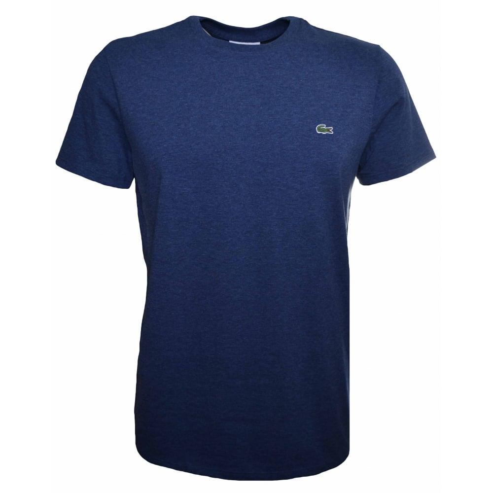 e043edcc Lacoste Men's Lacoste Men's Regular Fit Blue Marl T-Shirt