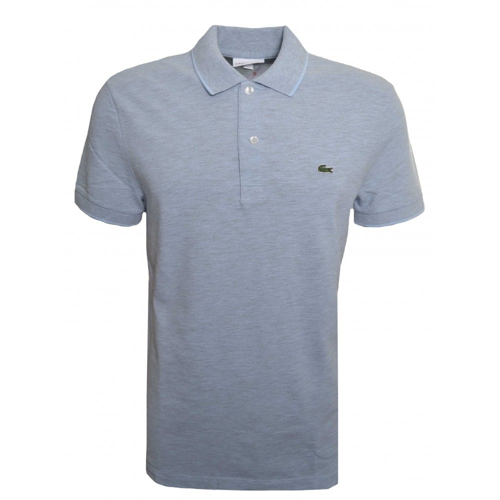 017691cbc Lacoste Men s Regular Fit Light Blue Polo Shirt