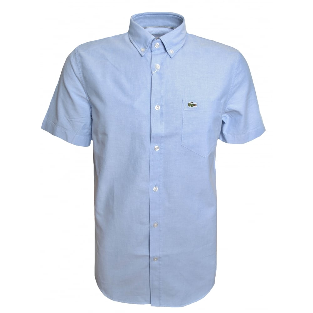 37aade3d Regular Fit Light Blue Short Sleeved Shirt
