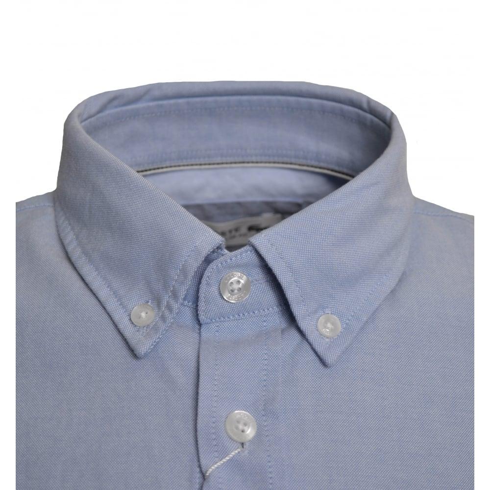 32f7f98b Regular Fit Light Blue Short Sleeved Shirt