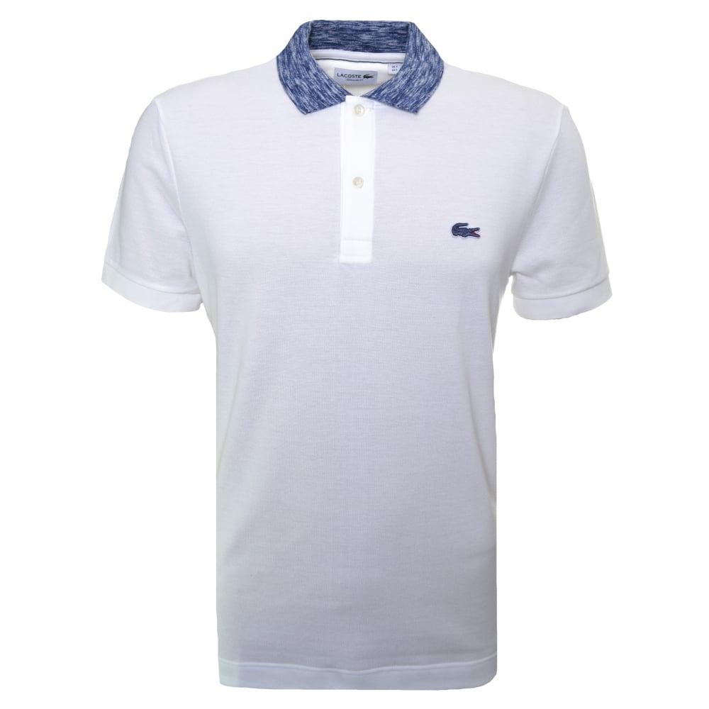 05c97c05 Lacoste Men's Lacoste Men's Regular Fit White Polo Shirt