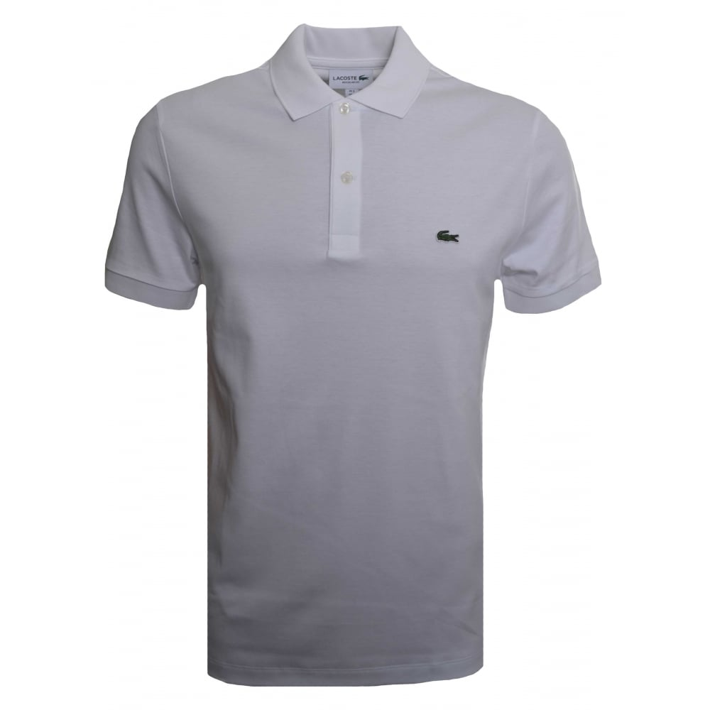 White Men's Shirt Polo T Lacoste Oqwa7Z5xwv