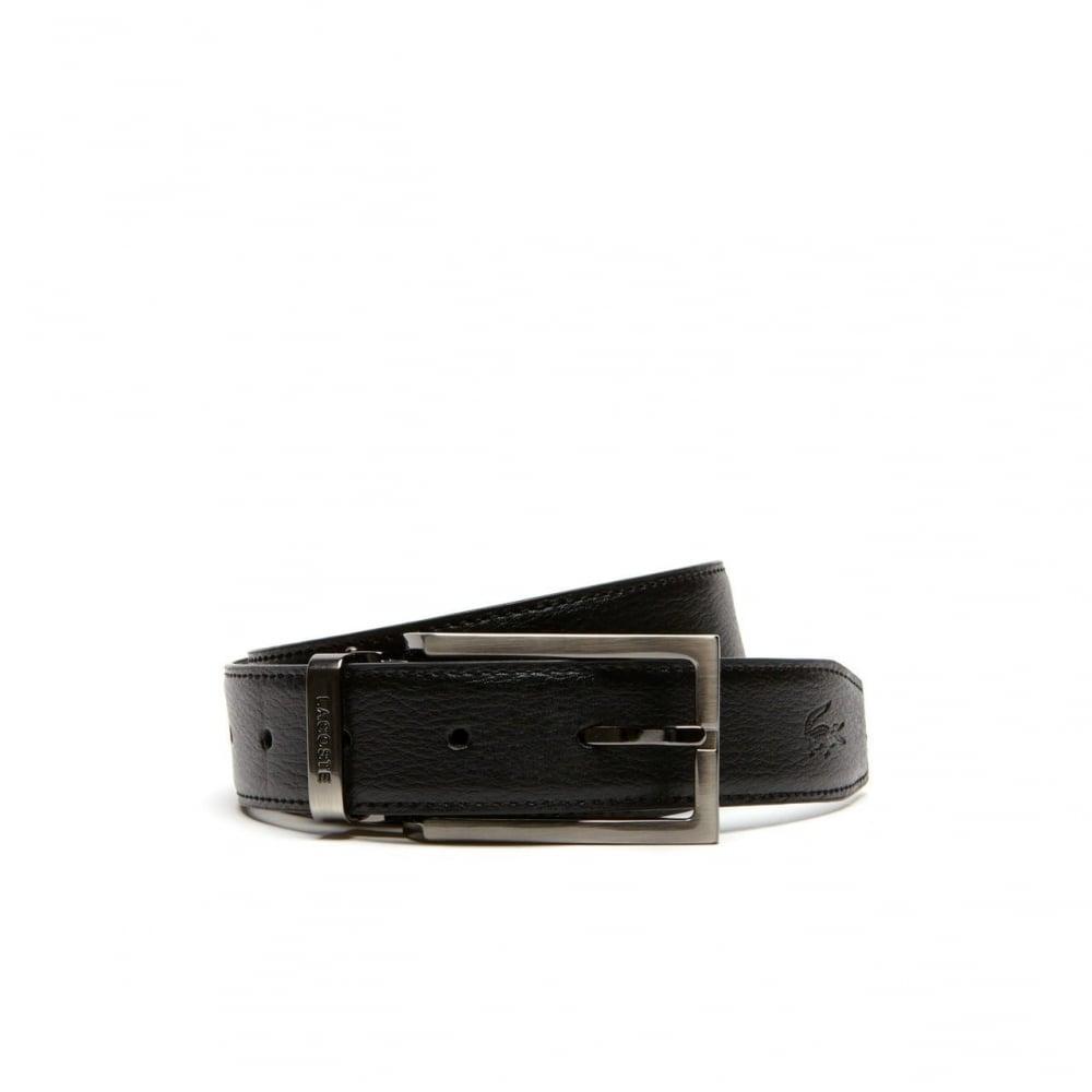 3aec2441 Lacoste Men's Lacoste Men's Reversible Belt Gift Set Black/Brown