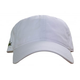 Lacoste Men's White Cap