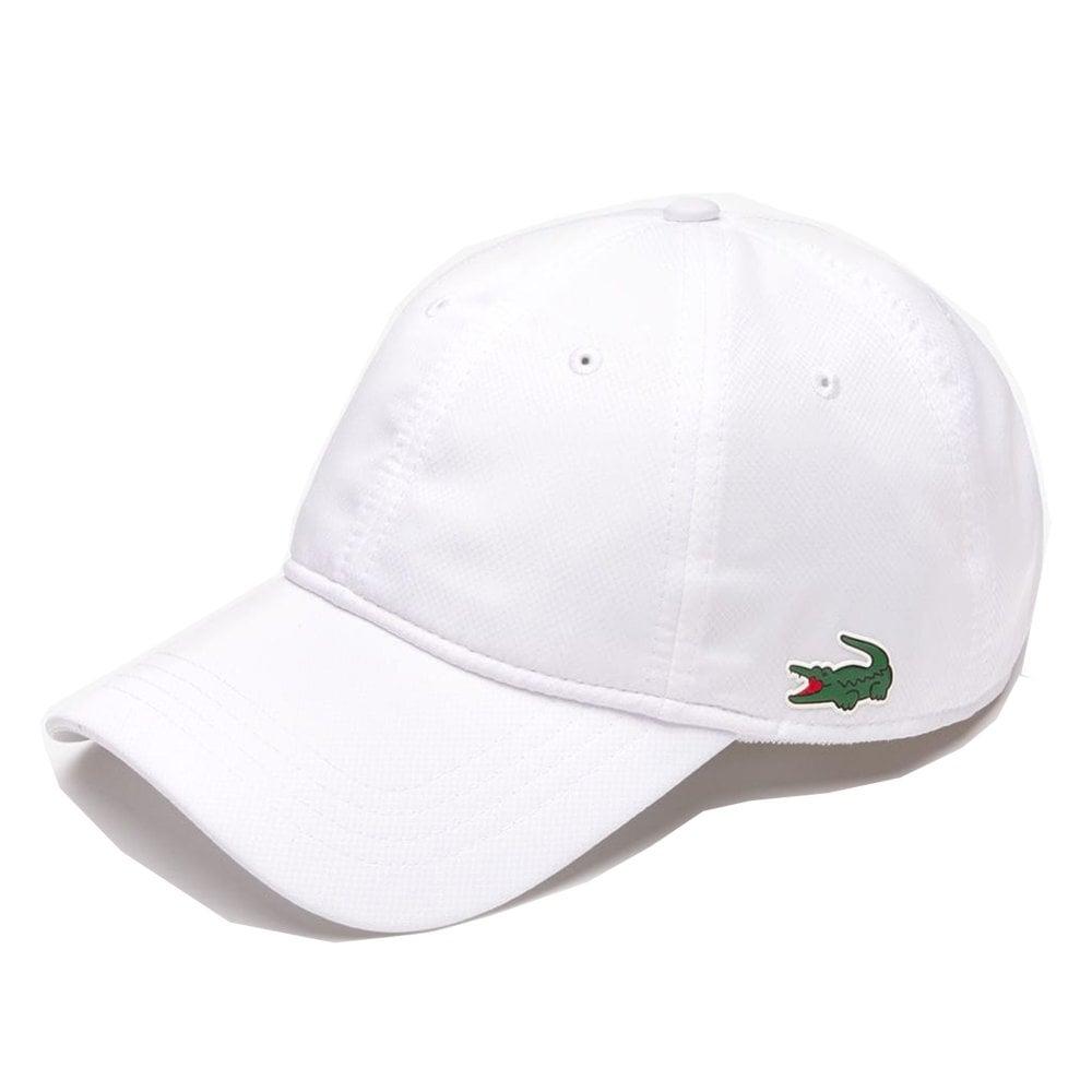 200fb6c32e80b lacoste mens white cap