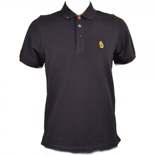 Men 39 s luke 1977 dark navy williams polo shirt for Luke donald polo shirts