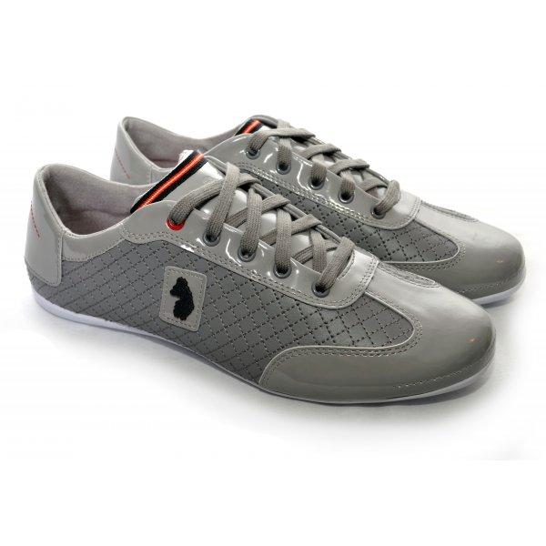 men's luke 1977 grey cleo trainers
