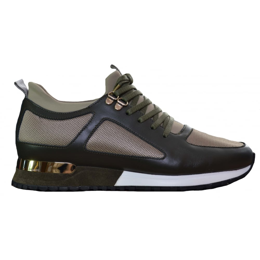 Mallet Men's Khaki Diver Trainers