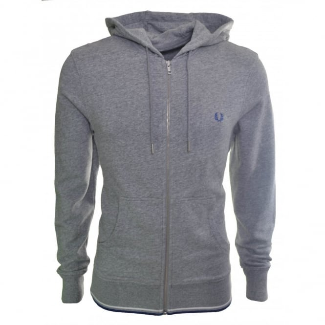Fred Perry Men's Vintage Steel Tipped Zip Through Sweatshirt