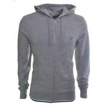 Men's Fred Perry Vintage Steel Tipped Zip Through Sweatshirt