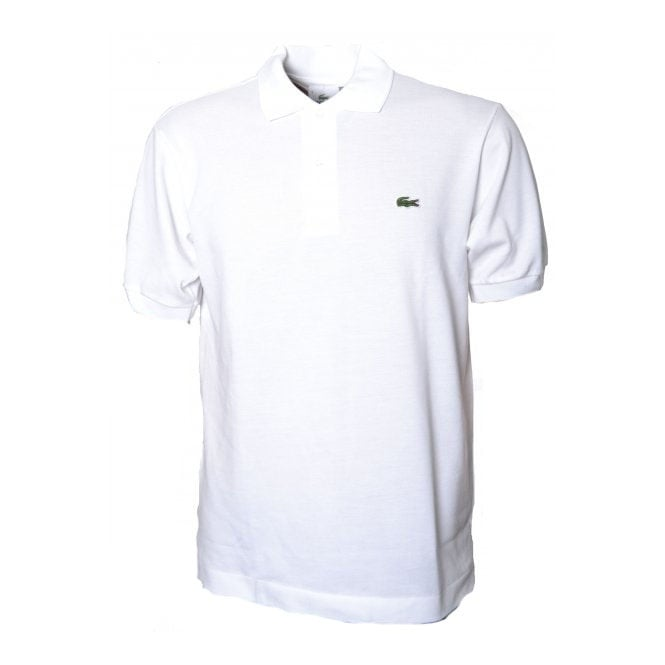 Lacoste Men's White Polo T-Shirt