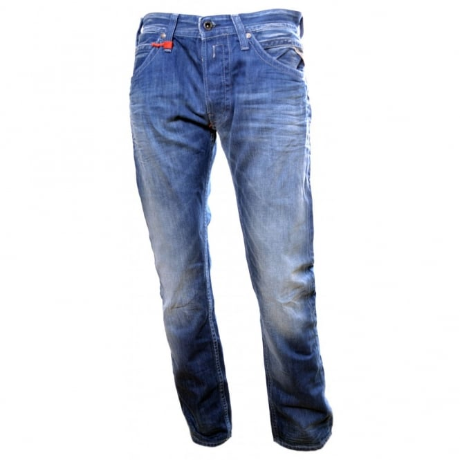 Tillbor Slim Mens Jeans Replay n68nLok