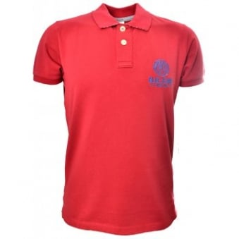 Men's Replay Red Polo Shirt