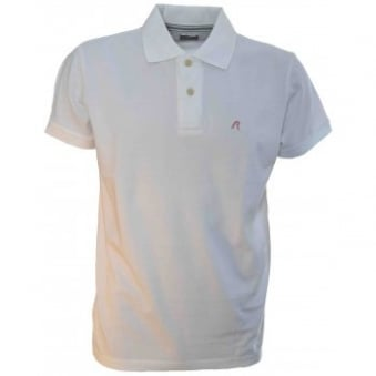 Men's Replay White Polo Shirt