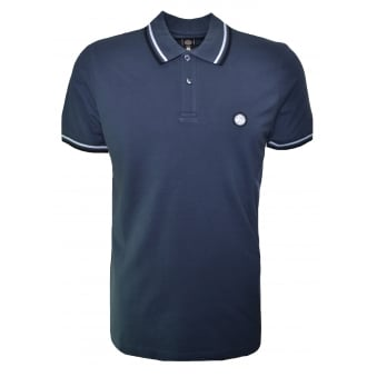 Pretty Green Men's Charcoal Polo Shirt