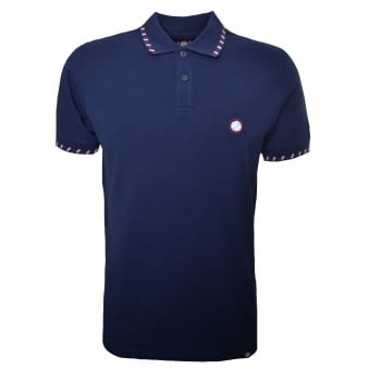 Pretty Green Men's Elmwood Navy Polo Shirt