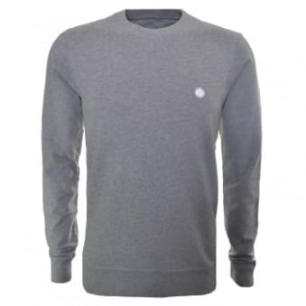 Pretty Green Men's Foxlair Grey Sweatshirt