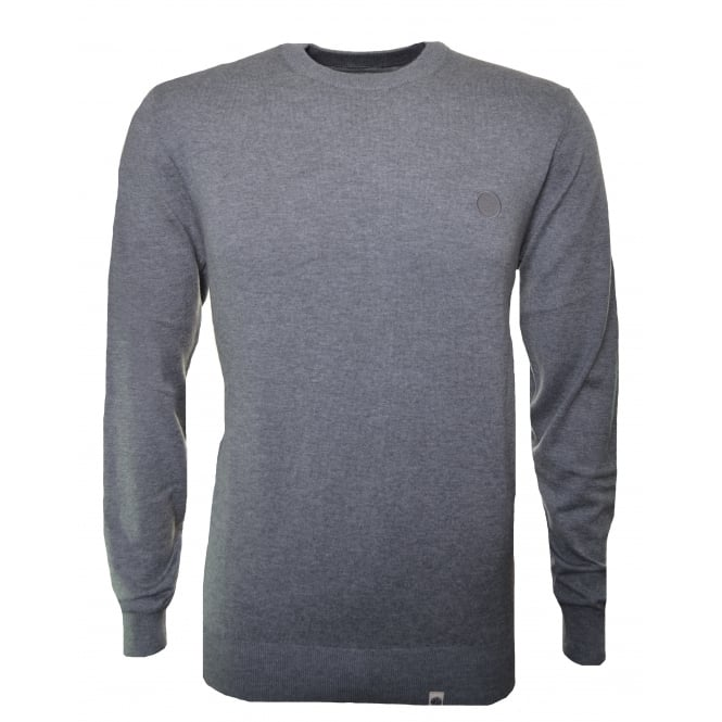 Pretty Green Men's Grey Mandeville Jumper