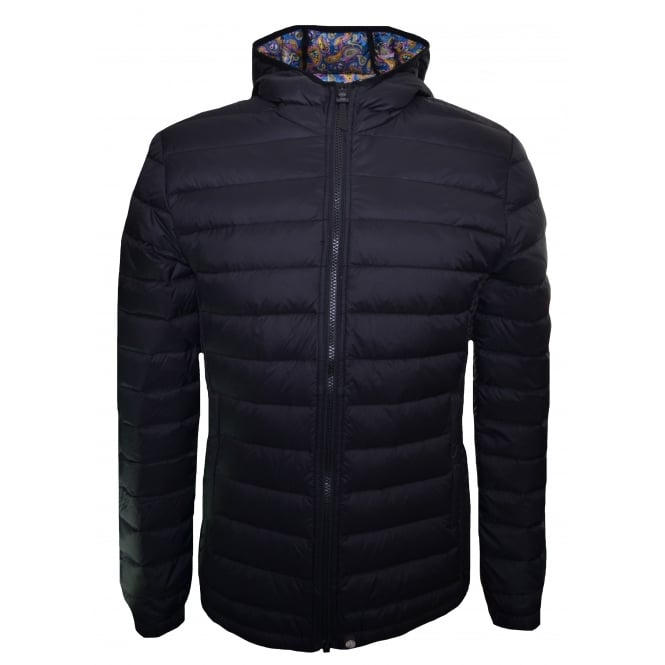 Pretty Green Men's Pembrook Black Quilted Jacket