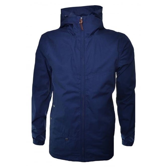 Pretty Green Men's Sevenoaks Navy Blue Jacket