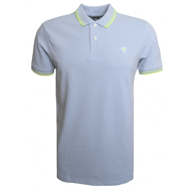 Replay Men's Blue Short Sleeved Polo Shirt