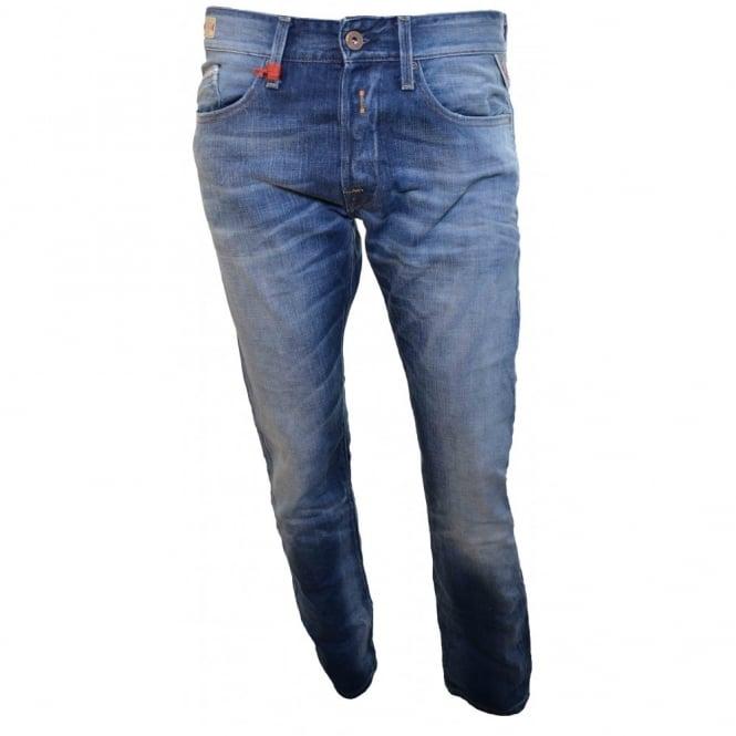 Replay Men's Blue Waitom Jeans