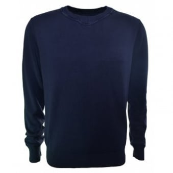 Replay Men's Navy Blue Knitted Jumper
