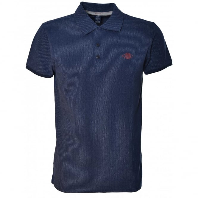 Replay Mens Navy Polo