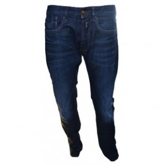 Replay Mens NewBill Blue Jeans