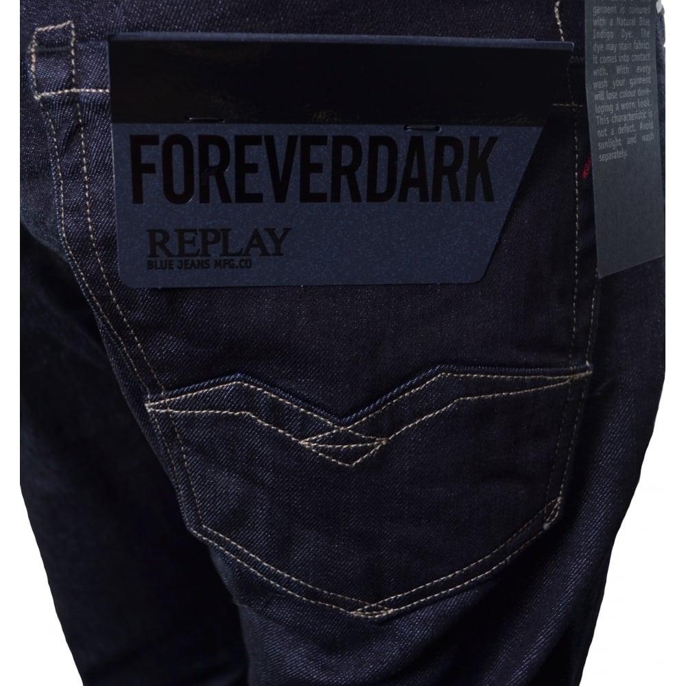 cheap for discount 3e204 a0c1d Men's Waitom Forever Dark Regular Slim Fit Jeans