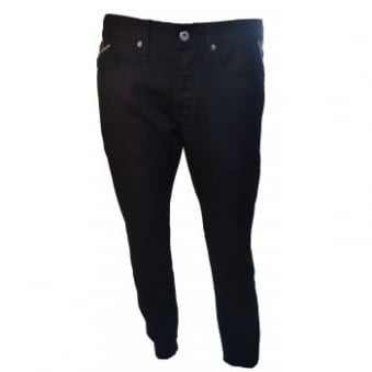 Replay Men's Waitom Slim Fit Black Stretch Denim Jeans